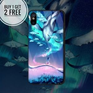 Accessories - Fantasy World Tempered Glass iPhone Phone Case